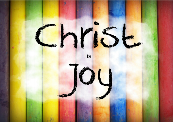 Christ is joy poster